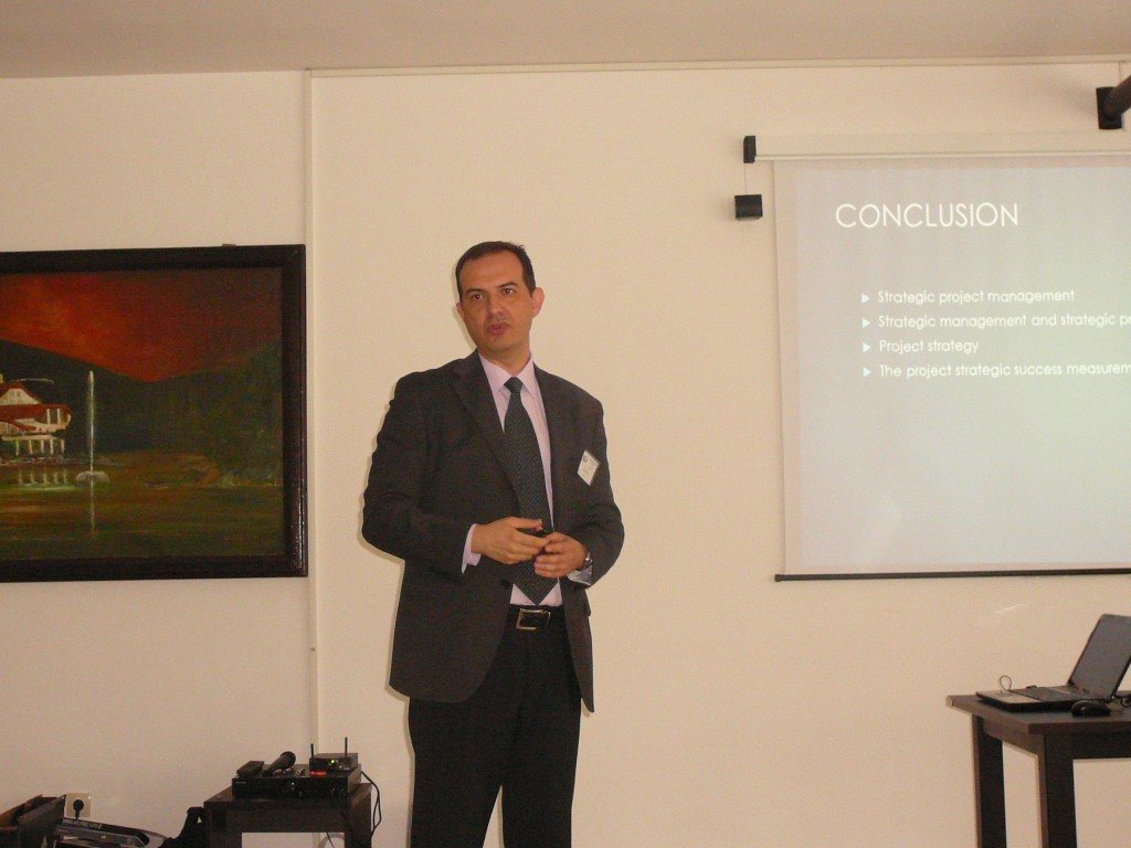 Plenary lecture held by Professor Dr Dejan Petrović